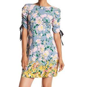 Donna Morgan Floral Printed T-Shirt Dress